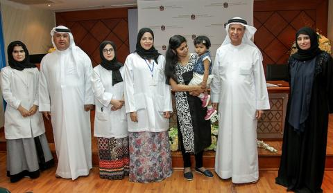 Ministry of Health and Prevention performs first successful cochlear implant of 'Help me hear' program
