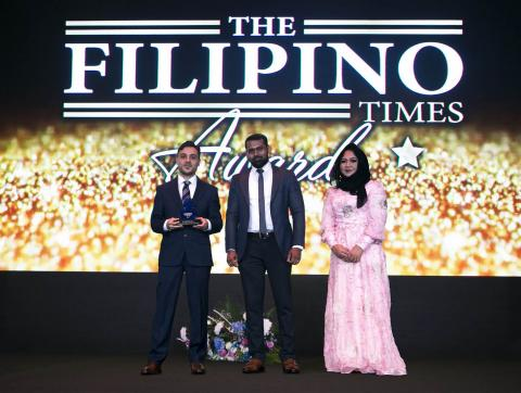Al Ansari Exchange named the 'Preferred Remittance Centre of the Year' for a third consecutive time at The Filipino Times Awards 2017