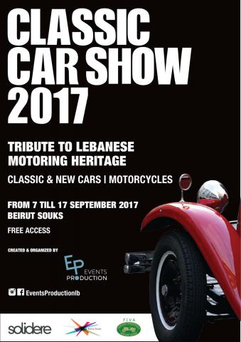 Classic Car Show 2017: Tribute to Lebanese Motoring Heritage