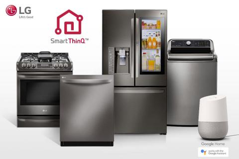 LG EXPANDS GOOGLE ASSISTANT CAPABILITIES  ACROSS EXTENSIVE SMART APPLIANCE PORTFOLIO