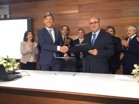 PHILIP MORRIS AND REGIE SIGN PARTNERSHIP AGREEMENT  TO MANUFACTURE SOME OF THE COMPANY'S PRODUCTS IN LEBANON