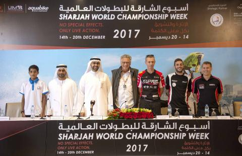 World champions gear up to meet for adrenaline-filled water sports competitions of Sharjah World Championship Week