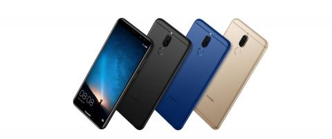 The first phone with 4 cameras and a FullView Screen: HUAWEI Mate 10 lite