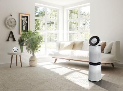 SMART AIR SOLUTION PRODUCTS FROM LG EMPLOY VOICE AND INTELLIGENT DUST SENSOR FOR BETTER AIR