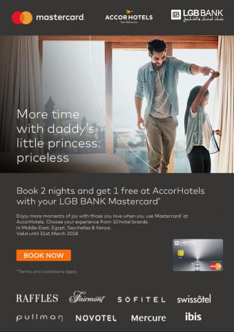 LGB BANK in collaboration with MasterCard launches a new promotion