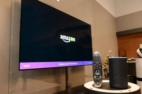LG ADDS SUPPORT FOR AMAZON ALEXA IN 2018 THINQ® AI TV