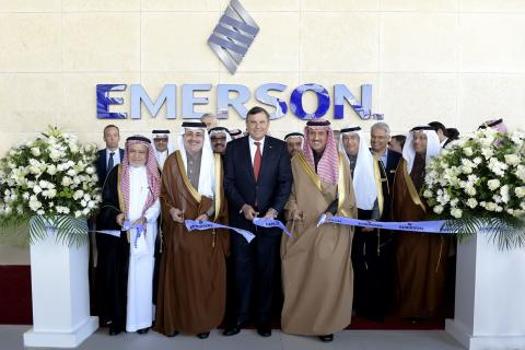 EMERSON INAUGURATES NEW FACILITY IN SAUDI ARABIA  TO SUPPORT LOCALIZED INNOVATION AND TRAINING