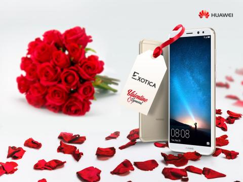 Huawei Mate 10 lite celebrates Valentine's day with you!