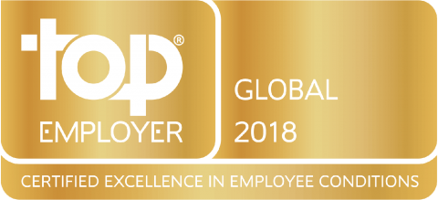 Takeda Announces Its Certification in Select Group of Global Top Employers® 2018