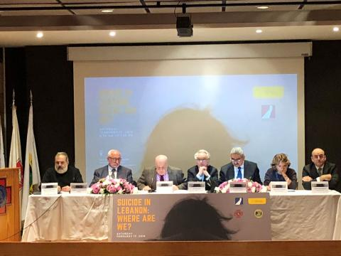 IDRAAC Hosts Symposium on Suicide in Lebanon: Suicide Attempts Estimated at 2%, Close to Global Average
