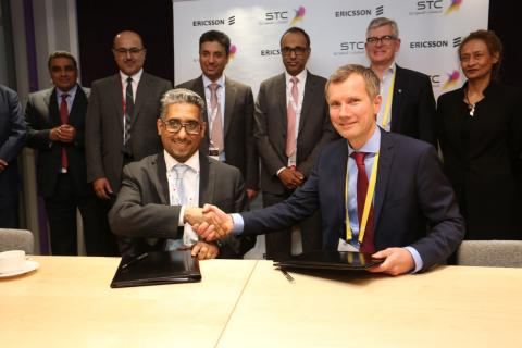 Ericsson and Saudi Telecom Company (STC) sign two MoUs for strategic 5G collaboration and consumer & enterprise digital services