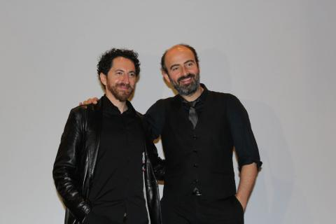Kinan Azmeh and Kevork Mourad combine music and visual art