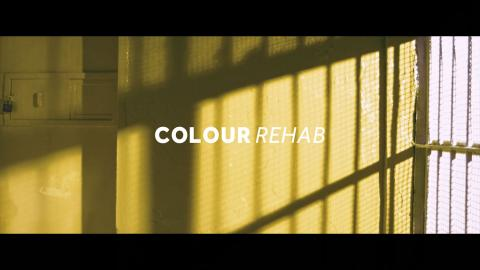 Colortek implements a creative colour-based therapy to improve prisoners' psychological conditions