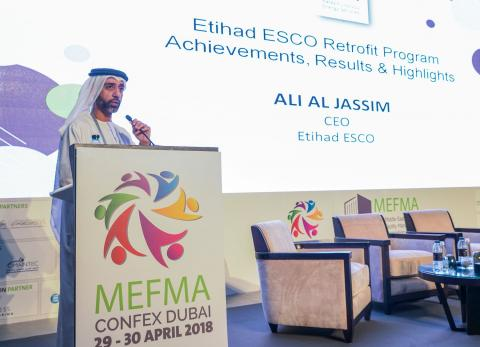 Etihad ESCO throws spotlight on retrofit program achievements at MEFMA CONFEX 2018