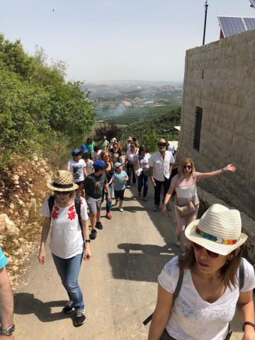 Epsilon Organizes a Hike to raise money For a child suffering from epilepsy