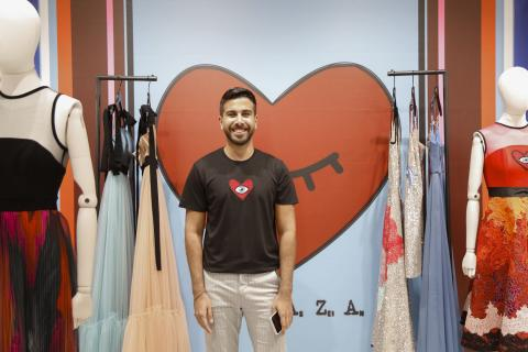 ABC Verdun collaborates with Hussein Bazaza to highlight Lebanese designers' accomplishments