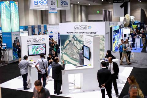 Abu Dhabi Government delegation successfully concludes participation at 2018 International Esri User Conference on a high note