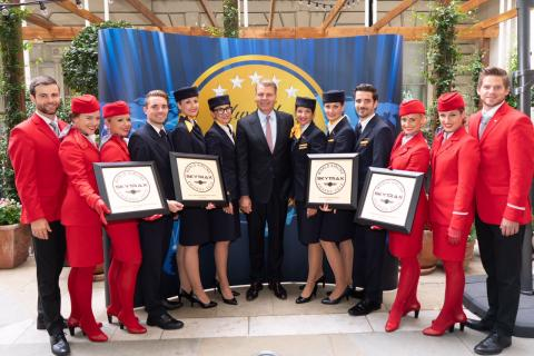 Lufthansa Group Wins Four Skytrax Awards
