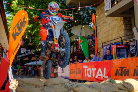 A.N. Boukather Motorcycles Enduro Cup Stage 2 Ehden Street Challenge!
