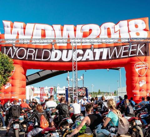 Al Masaood Ducati represents the UAE at 10th World Ducati Week in Italy