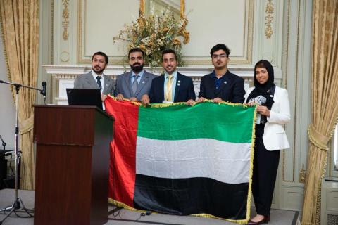Group of HBMSU learners represent UAE in the largest global gathering of youth leaders in New York