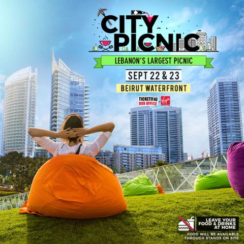 City Picnic turning Beirut waterfront into a garden!