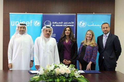 Al Ansari Exchange donates USD 1 million to UNICEF to support mothers & newborns in Yemen