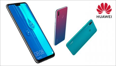 HUAWEI Y9 2019 IS FINALLY RELEASED
