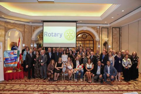 Rotarians from 7 countries visit Lebanon and study humanitarian projects that need funding