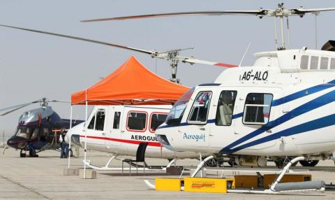 Dubai HeliShow 2018 continues to showcase latest technological innovations in helicopter industry on day 2