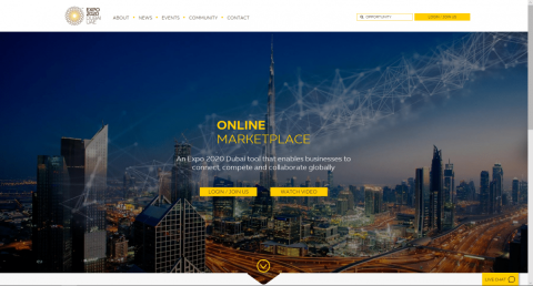 Drive new business, connections and growth with Expo 2020 Dubai's global Online Marketplace