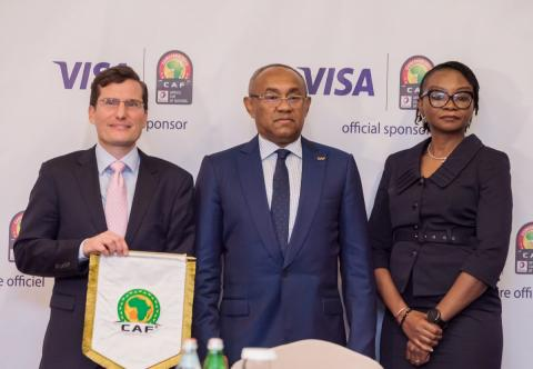 Visa signs as Payments Technology Sponsor for Total Africa Cup of Nations™