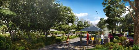 Azizi Developments unveils 'Les Jardins' in Azizi Riviera – a one-of-a-kind serene social space with lush greenery
