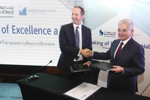 Bank of Beirut Becomes Signatory of the Investors for Governance & Integrity Declaration