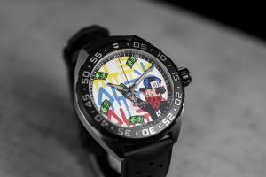 TAG Heuer celebrates the launch of a new Formula 1 edition with artist Alec Monopoly - available in the UAE