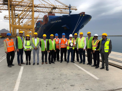Khorfakkan Container Terminal Receives Maiden Call from GALEX Service