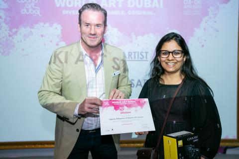 WORLD ART DUBAI CONCLUDES, SHINING LIGHT ON THE SHOW'S LEADING TALENTS