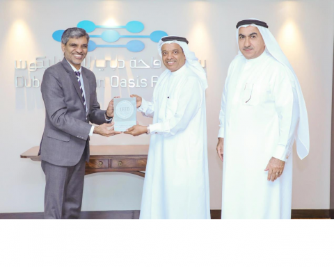 Dubai Silicon Oasis Authority Receives LEED Platinum Certification for its High Bay Building