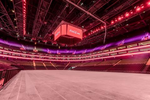 Coca-Cola Arena officially opens its doors this Friday 3rd May