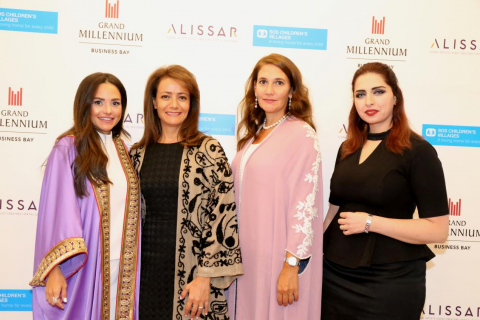 Alissar Flowers Holding Supports SOS Children's Villages