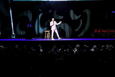 Russell Peters takes Coca-Cola Arena by storm!