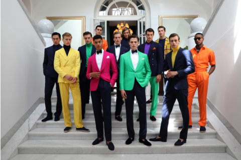The Ralph Lauren Purple Label Spring 2020 Collection