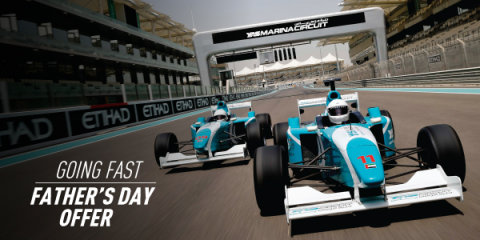 FATHER'S DAY OFFER AT YAS MARINA CIRCUIT