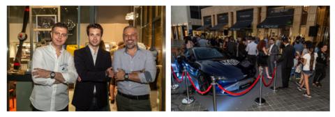 TAG HEUER FLAGSHIP BOUTIQUE REOPENS IN BEIRUT WITH EXCLUSIVE PARTNER ETS. H. ATAMIAN