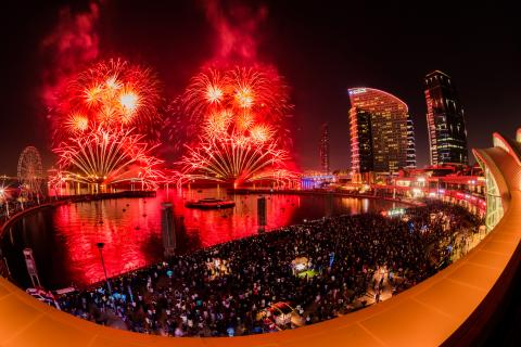 Dubai Festival City Mall Celebrates Eid Al Adha with Another Spectacular Synchronized Fireworks Display
