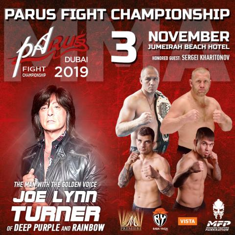 PaRUS Fight Championship in Dubai