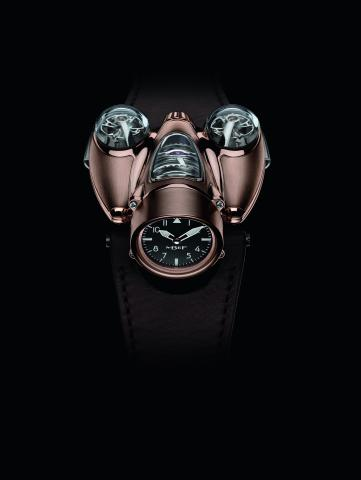 MB&F launches HM9 'Flow' watches in Red Gold (limited edition)