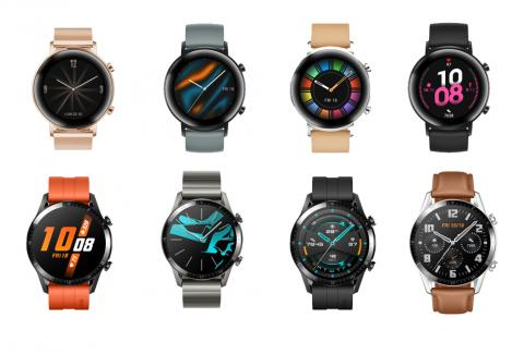 The all-new iconic HUAWEI Watch GT 2 sets new standards in wearable devices