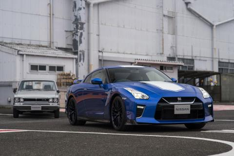 Nissan GT-R 50th Anniversary Edition front and center at Dubai International Motor Show