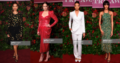 Michael Kors Red Carpet Moment: Jourdan Dunn, Gugu Mbatha-Raw, Ruth Wilson, Ella Balinska and more in Michael Kors Collection